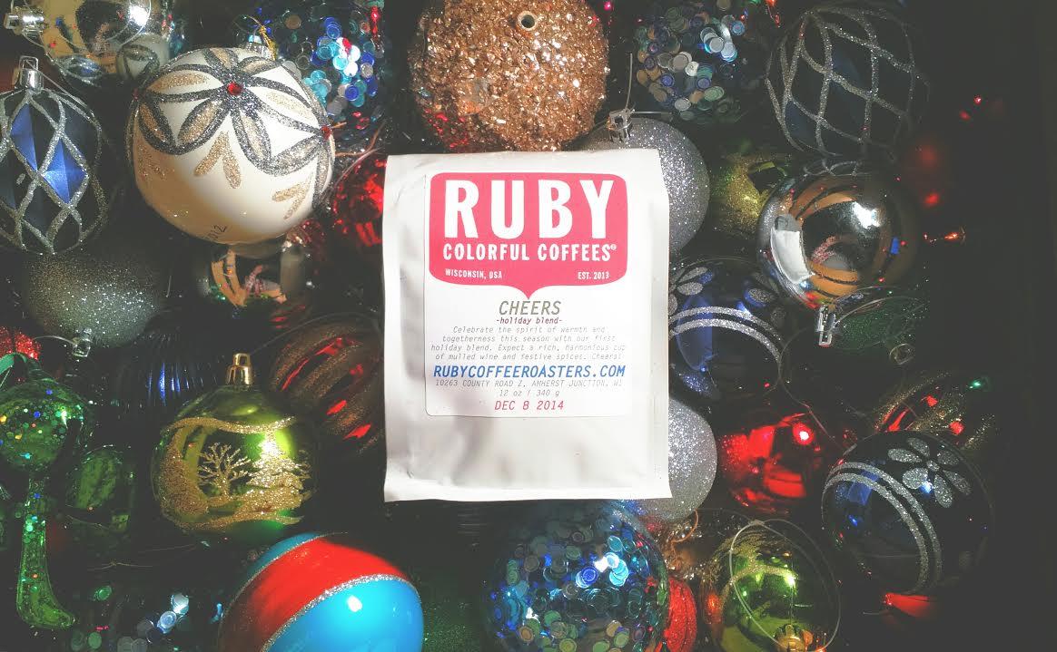 Ruby Coffee Roasters Cheers Holiday Blend